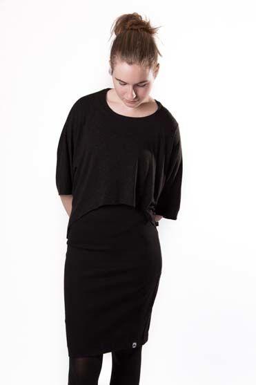 Image of   Niptuck Skirt Black