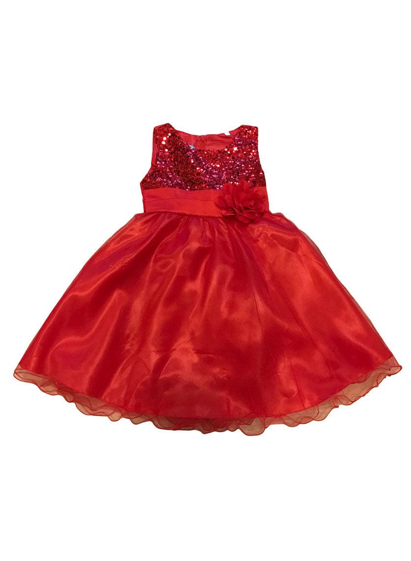 Image of   Lady Bird Dress Red