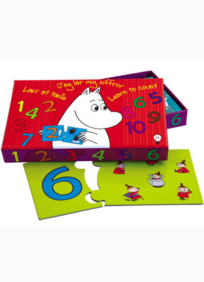 Image of   Room2Play Learn to Count, Moomin