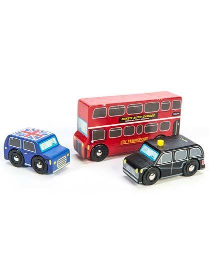 Image of   Room2Play Little London Vehicle Set