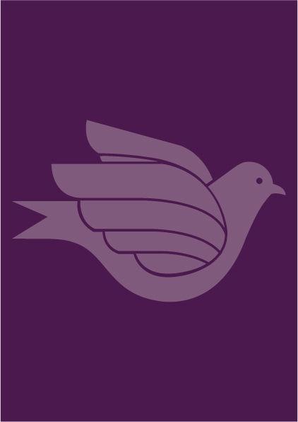 Poster Crocus LOVEBIRD