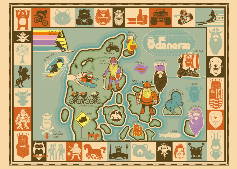 Poster Allover MAP