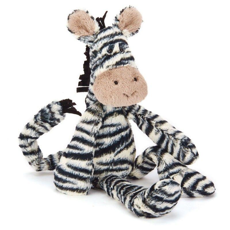 Image of   Jellycat Merryday Zebra Medium