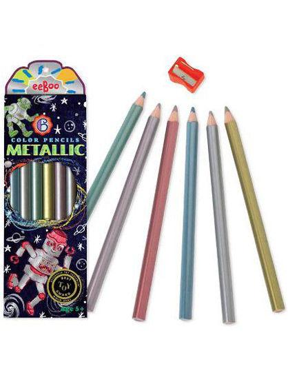 Room2Play Metallic color pencils,Robot