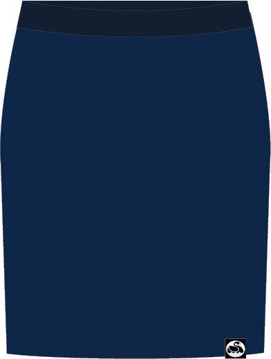 Image of   Niptuck Skirt Dk Denim