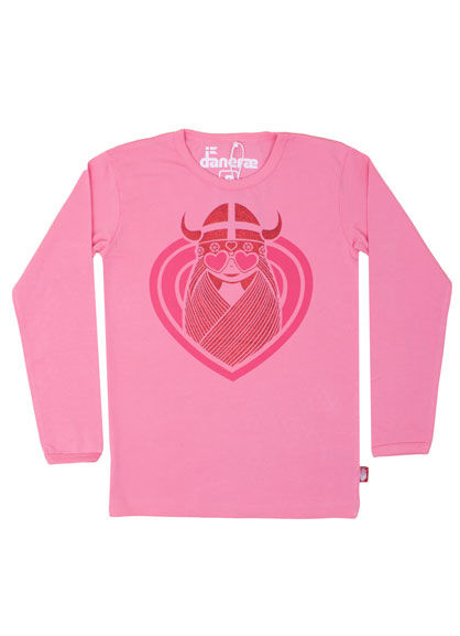 Northpole Tee Super Pink HEARTEYED FREJA