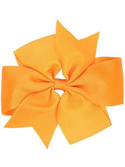 Image of   Hair Bow BIG Orange
