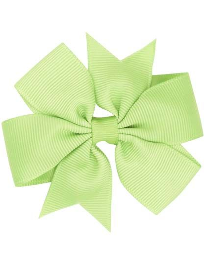 Image of   Hair bow DOUBLE Apple green