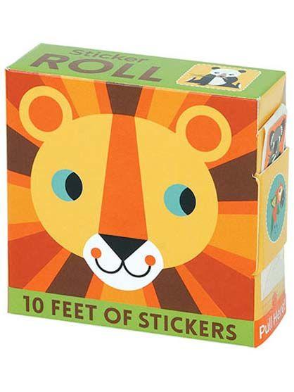 Room2Play Sticker Roll, Animal World