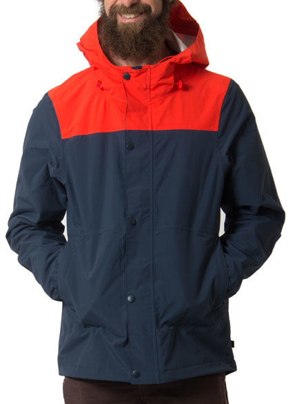 Viksoe Rain Navy/Lovely Orange