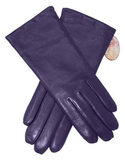 Luksus Handske Violet