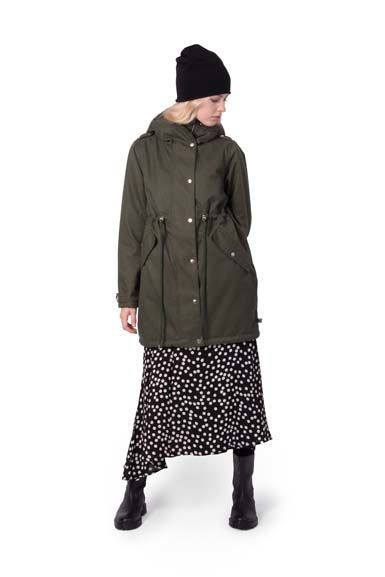Image of   Hound Winter Jacket Dark Khaki
