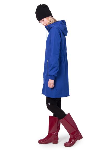 Image of   Jane Softshell Velvet blue