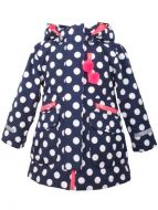 Kirstine Winter Jacket Navy/white DOTS