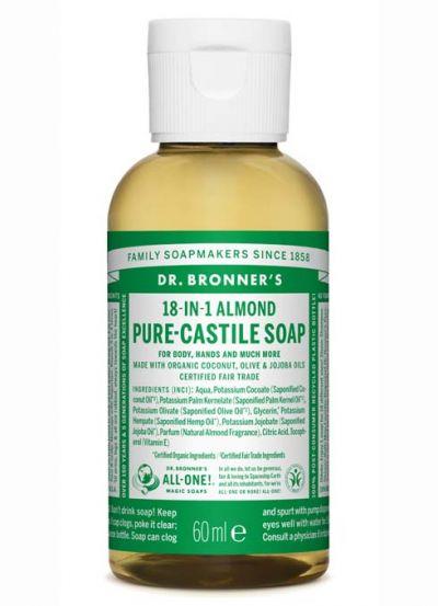 Dr.Bronner's Liquid Soap 60ml Almond