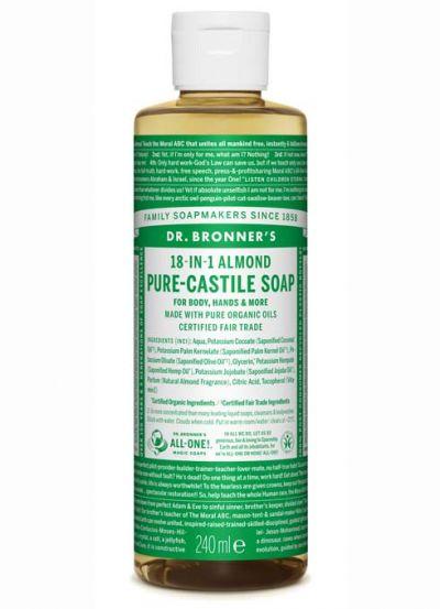 Dr.Bronner's Liquid Soap 240ml Almond