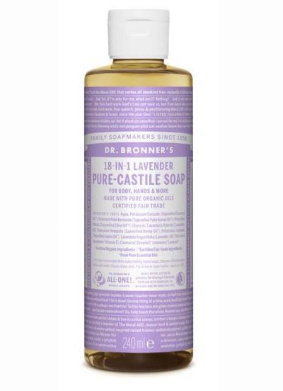 Dr.Bronner's Liquid Soap 240ml Lavender