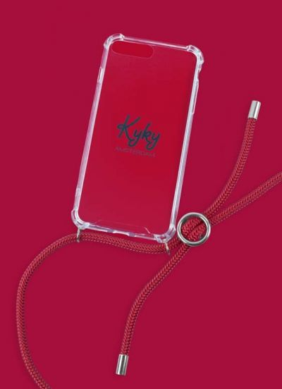 KyKy Iphone 7/8 Plus Cover  Red Bloody Mary SILVER