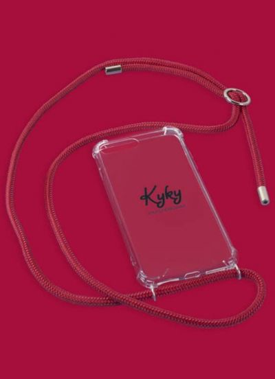 Kyky Iphone XR Cover Red Bloody Mary SILVER