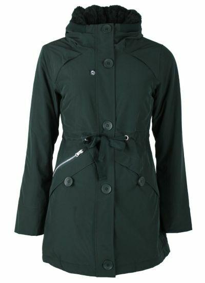 Lene Winter Jacket Black green