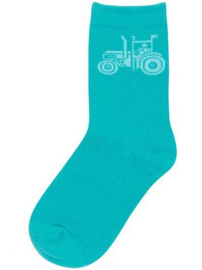 Kids Socks Abyss Green TRAKTHOR