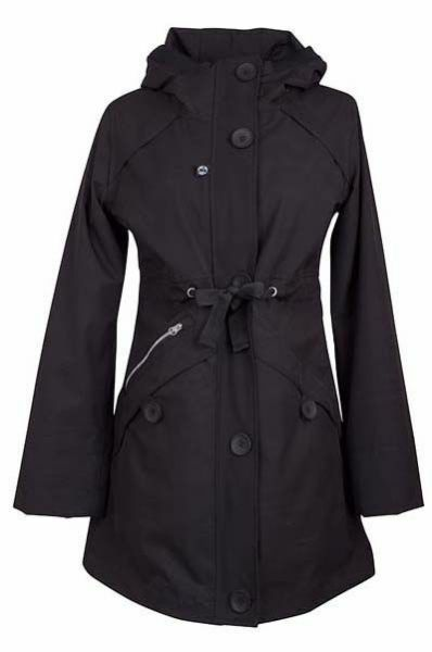 Lene Midseason Jacket Black (black liner)