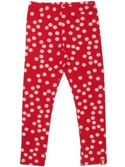 Spagat Pants Red/Offwhite FUN DOTS