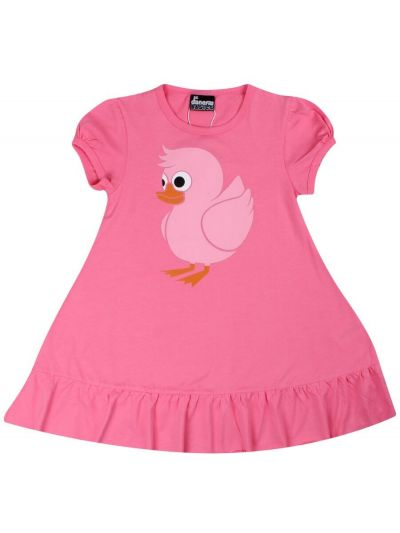 Vesterbro Dress Happy pink UDUCK