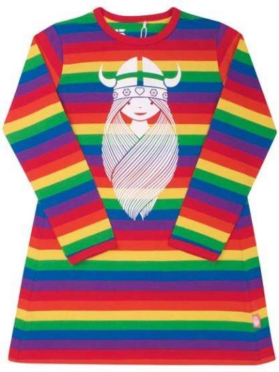 Nanna Dress Rainbow FREJA