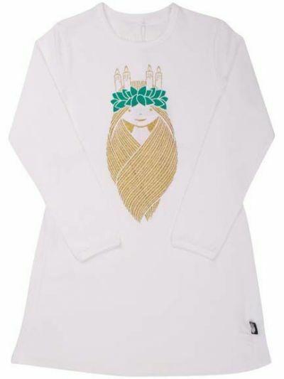 Joanna dress White ST LUCIA