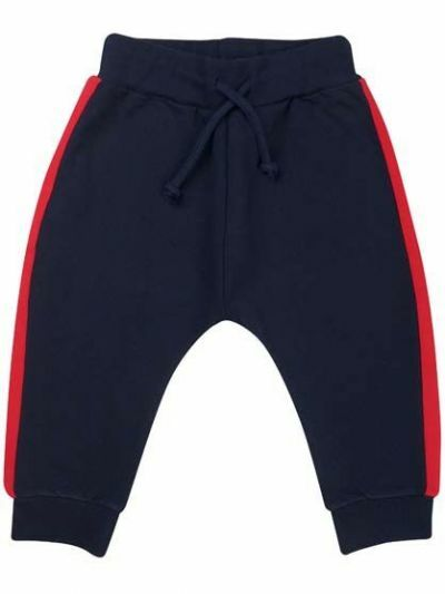 Silver pants Navy/Red