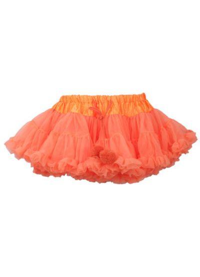 Ballerina Skirt Fluo orange