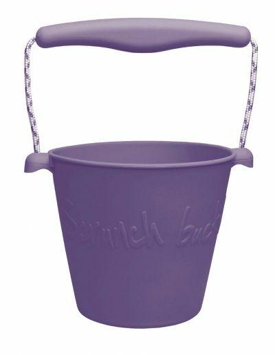 Scrunch Bucket Dark Lilla