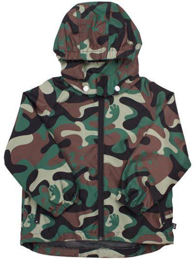 Mads Rain jacket Camo