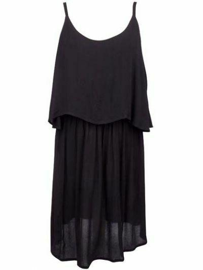 Bronza Dress Black