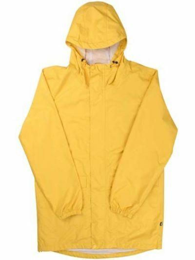 Really Great Mens Rain Dark Yellow