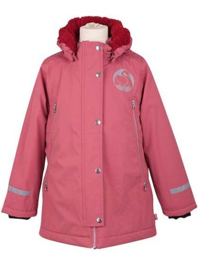 Emilia Stretch Winter Jacket Rhubarbe