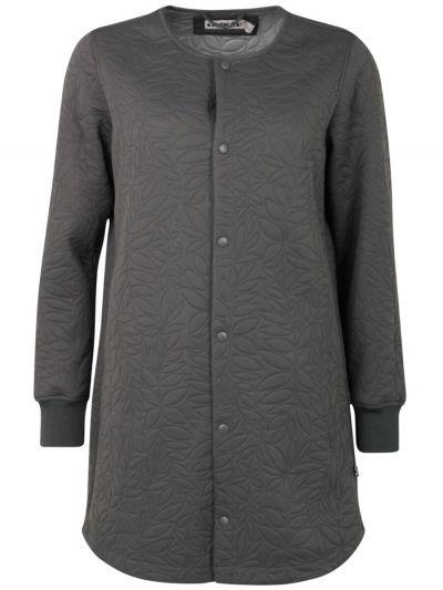 Maude Thermo Coat Dk Grey