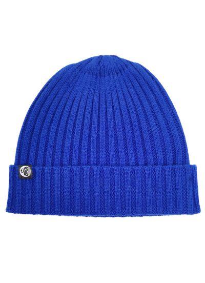 Cash Rib Beanie Royal Blue