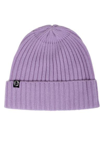 ESS - Cashmere Rib Beanie Light Purple