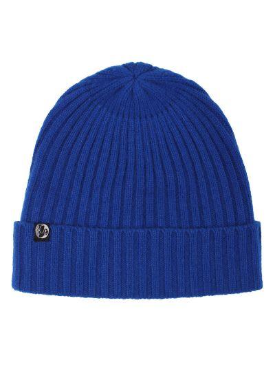ESS - Cashmere Rib Beanie Royal Blue
