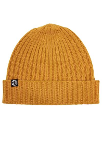ESS - Cashmere Rib Beanie Honey