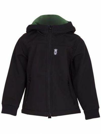 Bandit Softshell Black (Khaki fleece)