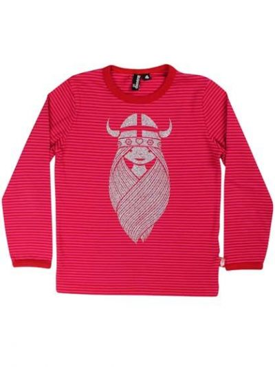 Northpole Tee Red/Hot Pink FREJA