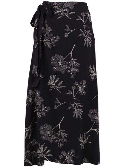 Jasmin Skirt Dk Grey/silver grey HEMLOCK