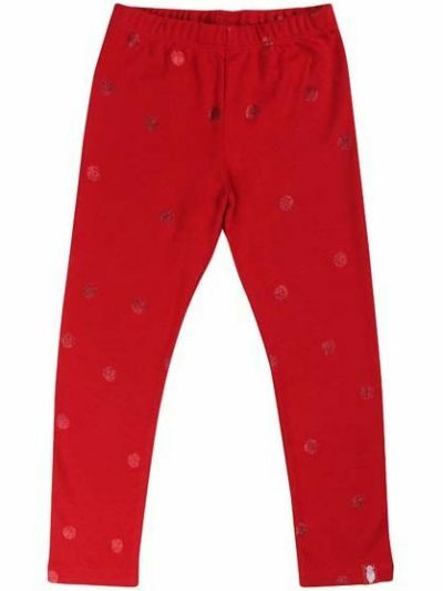 Spagat Pants Red/Red Glitter SURPRISE DOTS