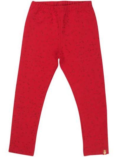 Andrea leggings Red/Red Glitter CONFETTI