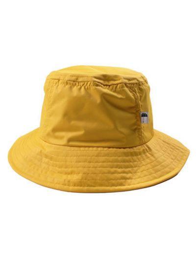 Bucket Rain Hat Dark Yellow