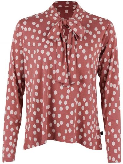 Helga Shirt Grey rose/chalk FUNDOTS