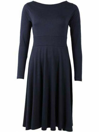 Sigrid Dress Dk Navy